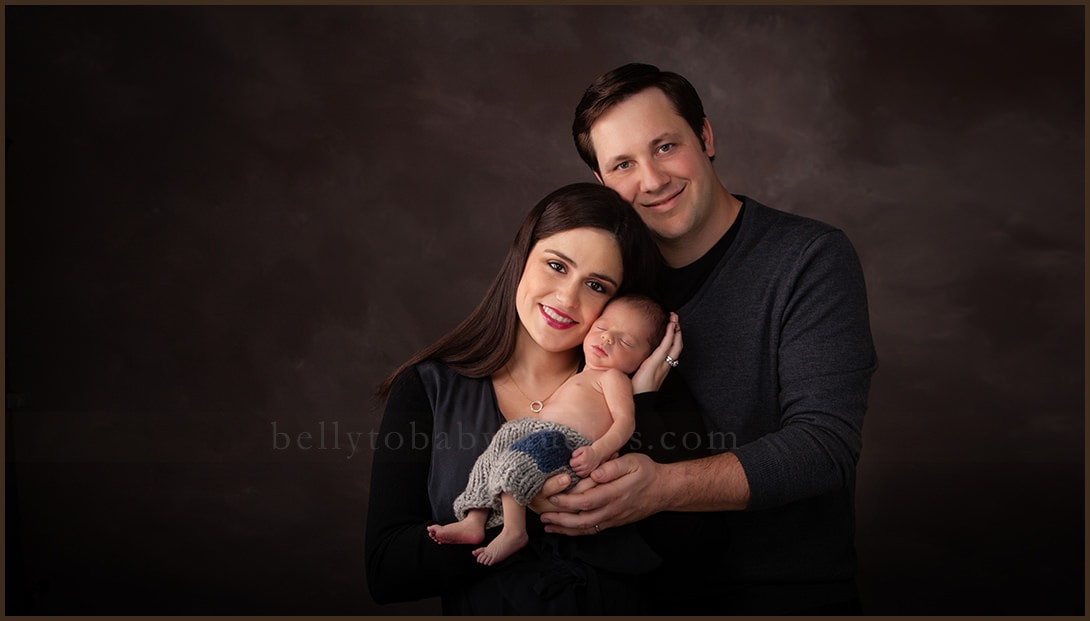 newborn and family portraits